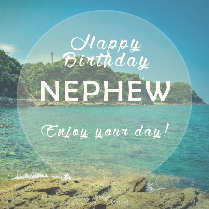 Birthday Card For Nephew