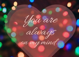 thinking of you image for him