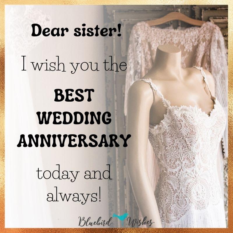 happy wedding anniversary for sister wedding anniversary wishes for sister Wedding anniversary wishes for sister happy wedding anniversary for sister
