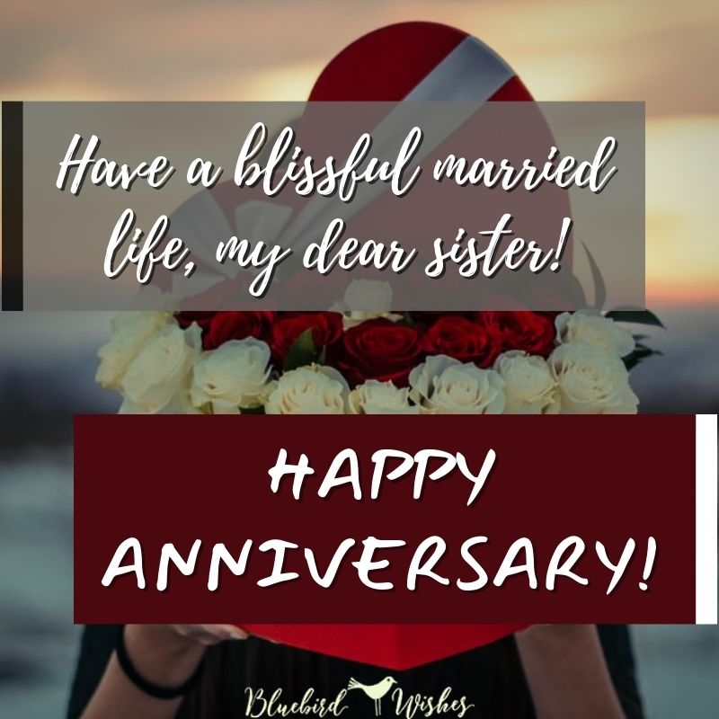 wedding anniversary greeting for sister wedding anniversary wishes for sister Wedding anniversary wishes for sister wedding anniversary greeting for sister