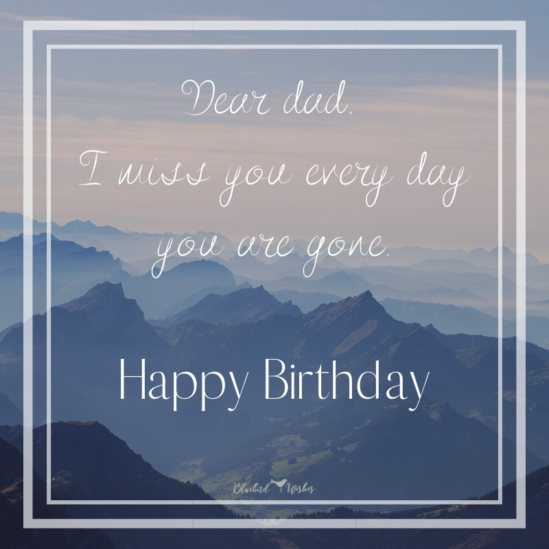 Happy Birthday Wishes For Dad In Heaven