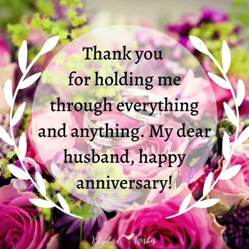 Wedding Anniversary Wishes For Husband Bluebird Wishes
