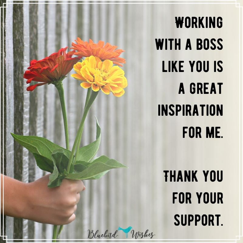 thank you card for boss thank you messages for boss Thank you messages for boss thank you card for boss