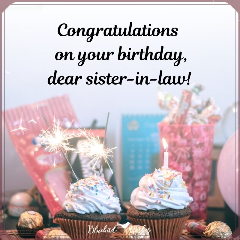 birthday card for sister in law birthday messages for sister-in-law Birthday messages for sister-in-law birthday card for sister in law