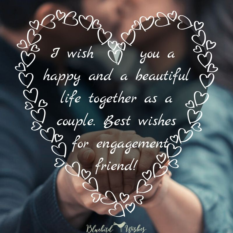 engagement card for friend engagement wishes to friend Engagement wishes to friend engagement card for friend