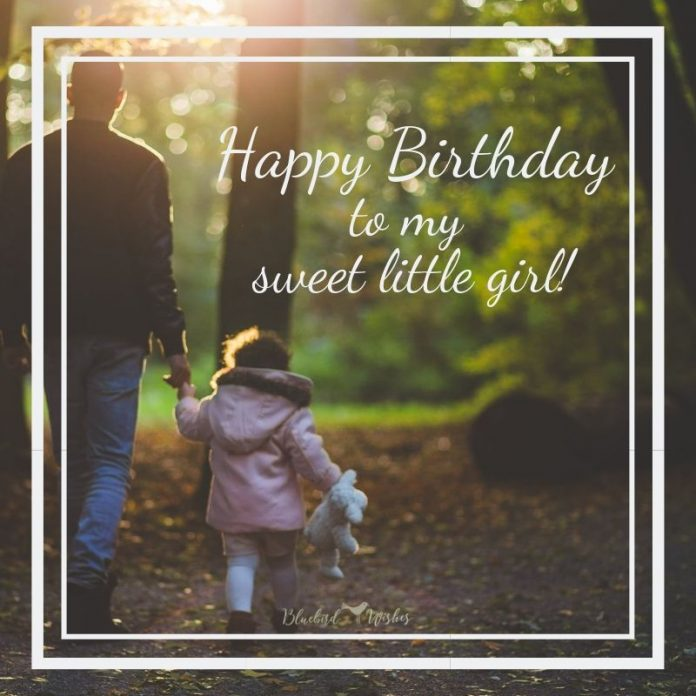 birthday messages for daughter from dad