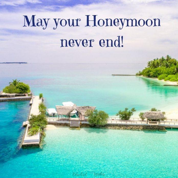 cute honeymoon messages