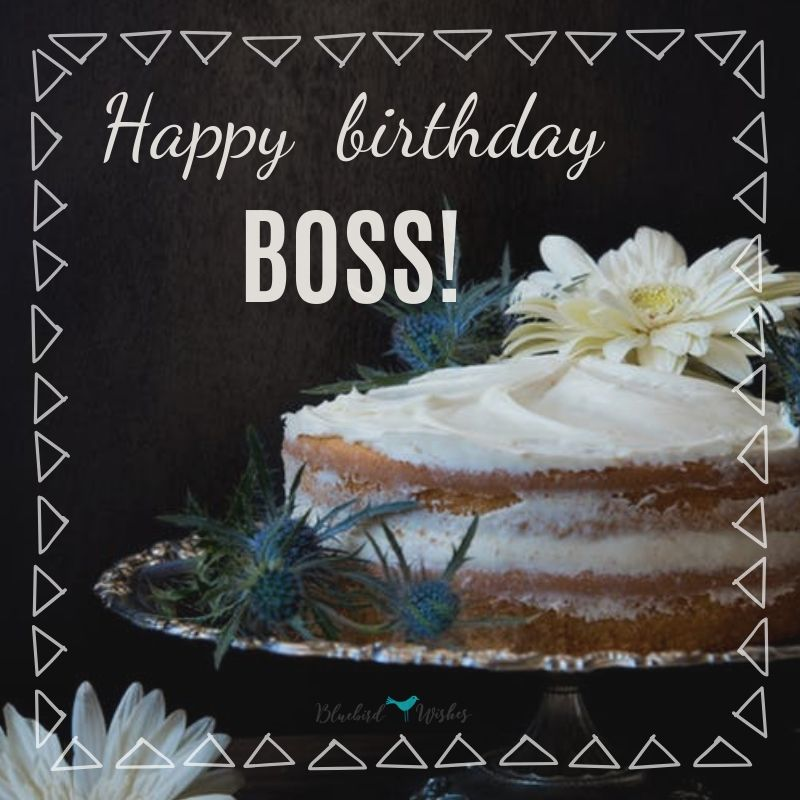Birthday Greetings For Boss Bluebird Wishes