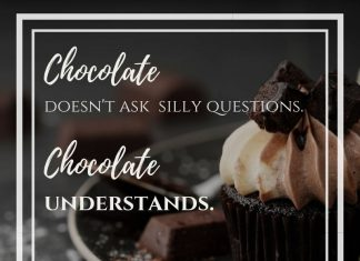 Funny sayings about chocolate