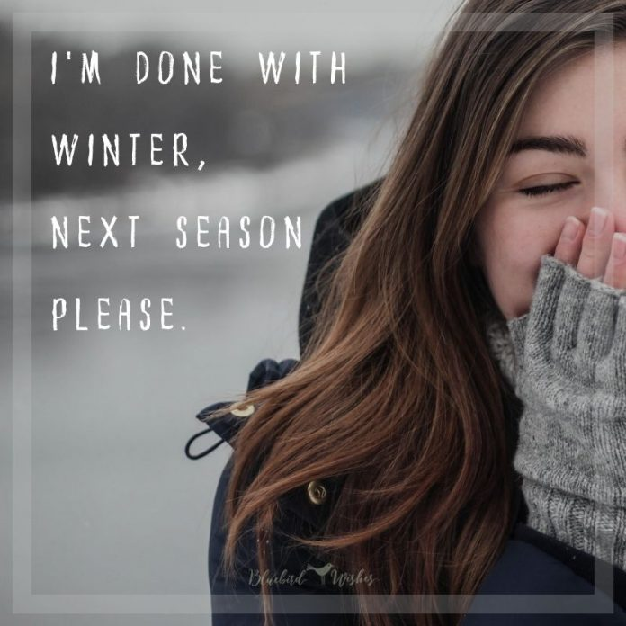 Funny quotes about cold weather | Bluebird Wishes