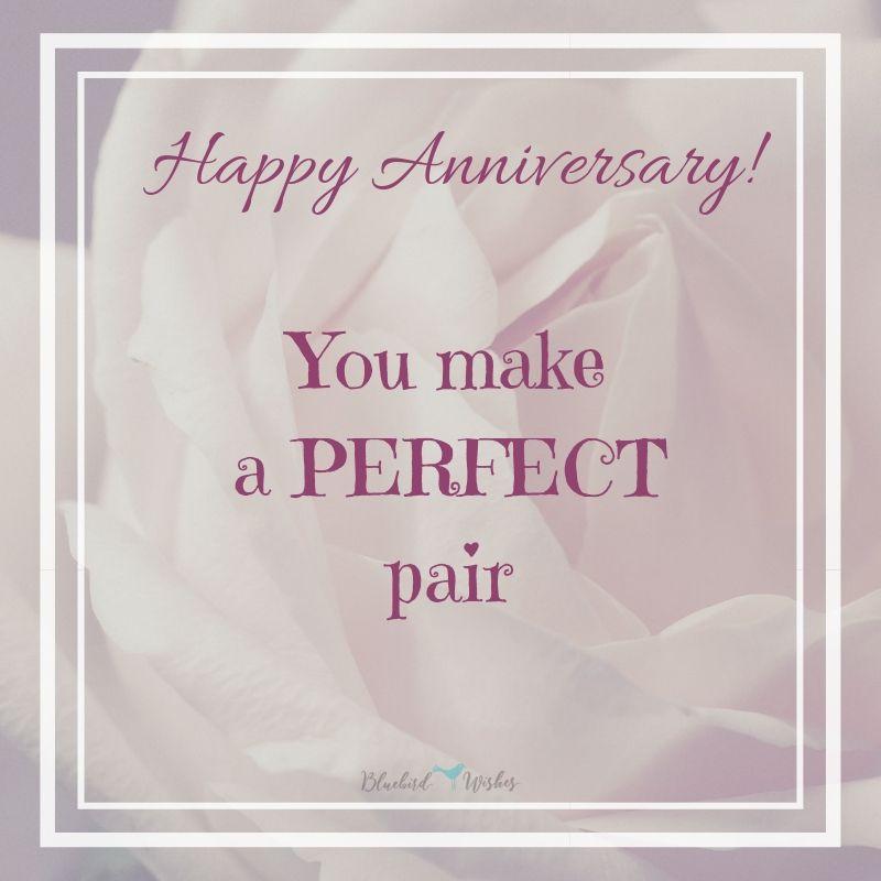 Wedding Anniversary Wishes For Friends Bluebird Wishes