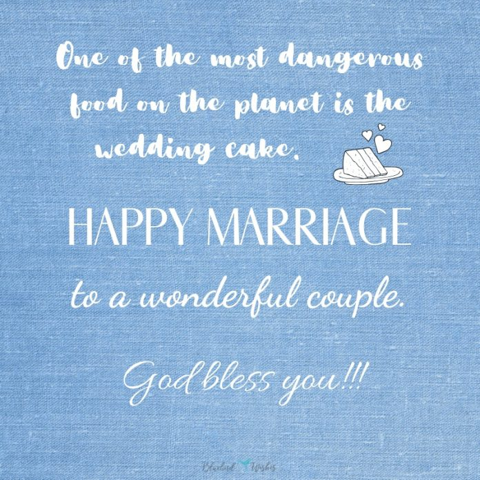 funny marriage greetings for newlyweds
