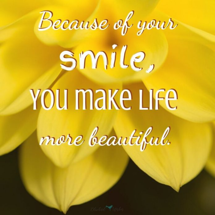 sayings about beautiful smile