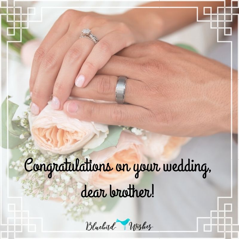wedding greetings for brother wedding wishes for brother Wedding wishes for brother Wedding greetings for brother