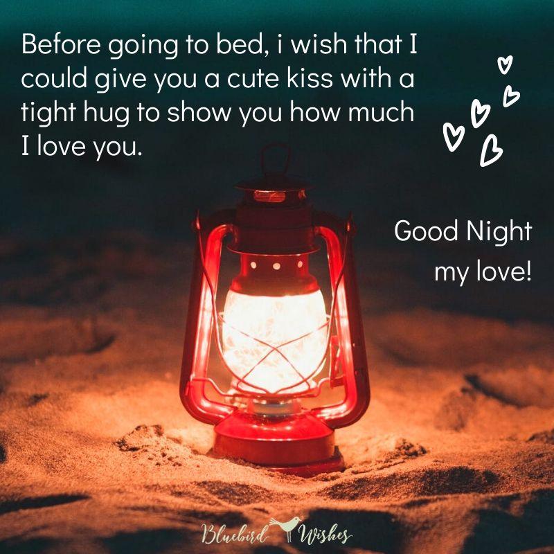 Goodnight girlfriend wish to 2021 Hot