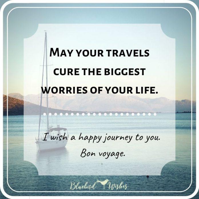 bon voyage sayings