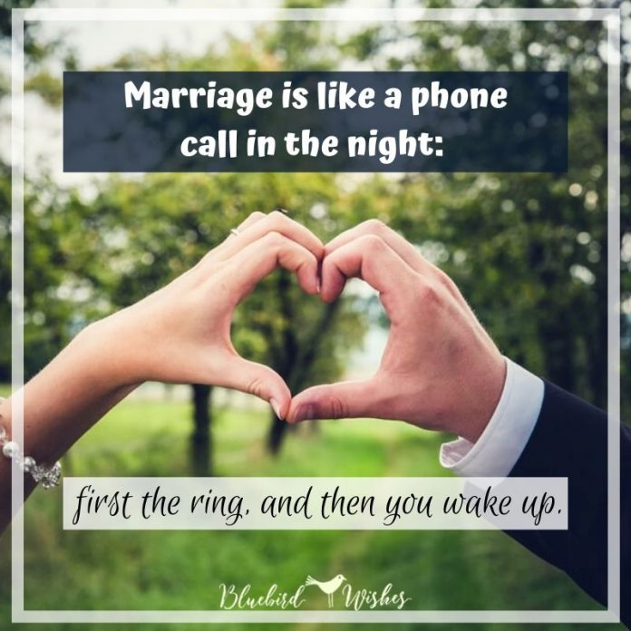 funny messages about marriage