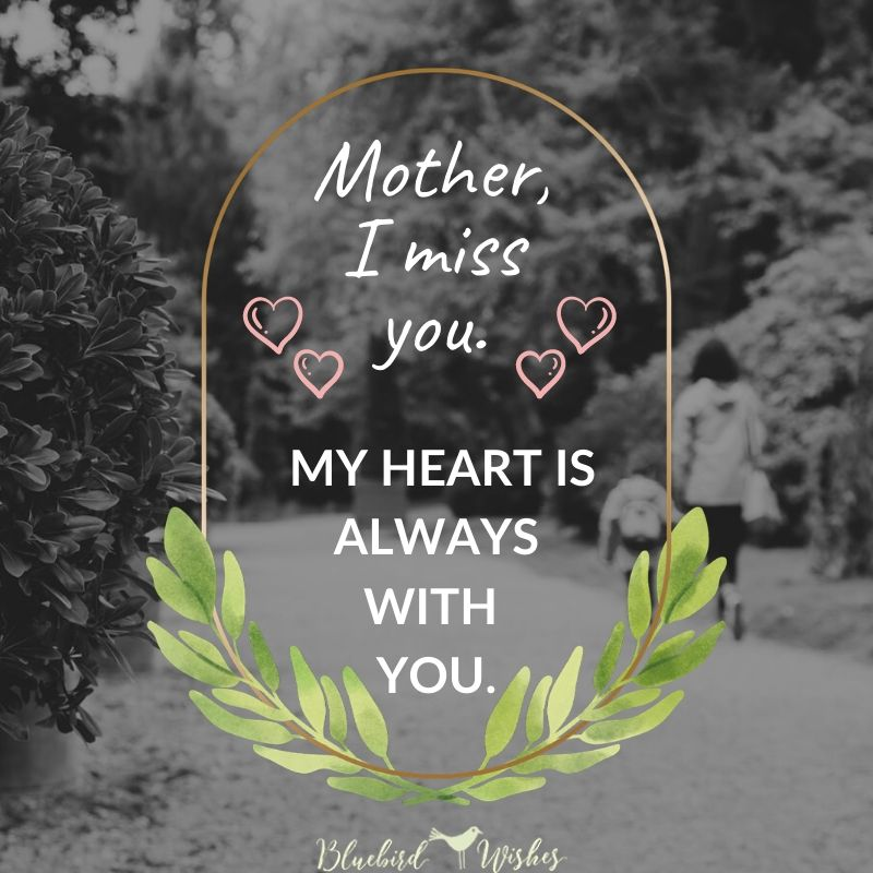 miss you card for mom miss you words for mom Miss you words for mom miss you card for mom