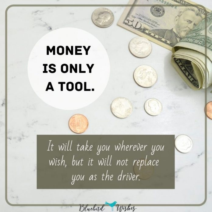 motivational sayings about money