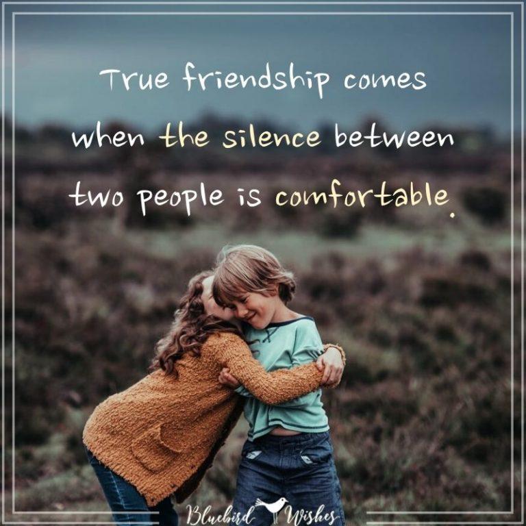 True friendship words
