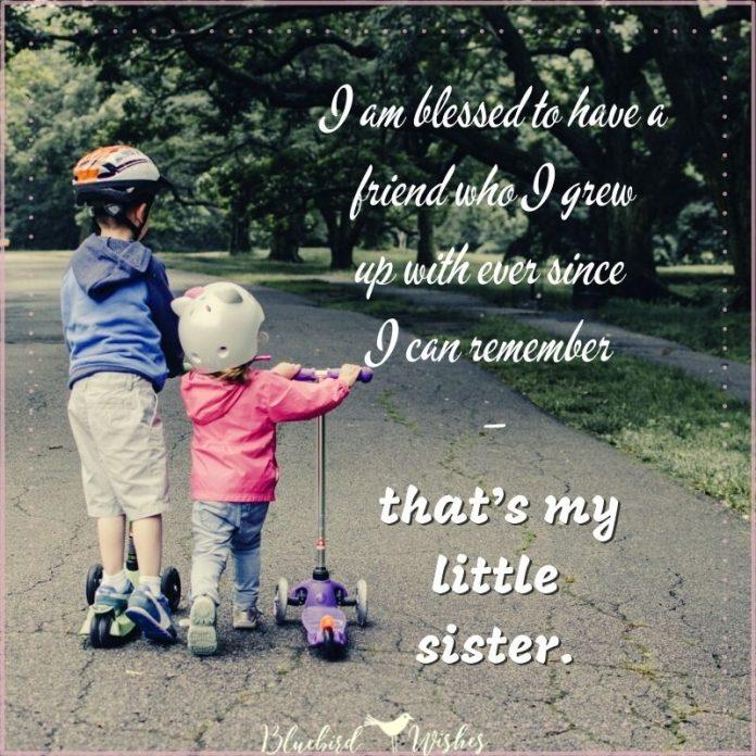 little sister sayings