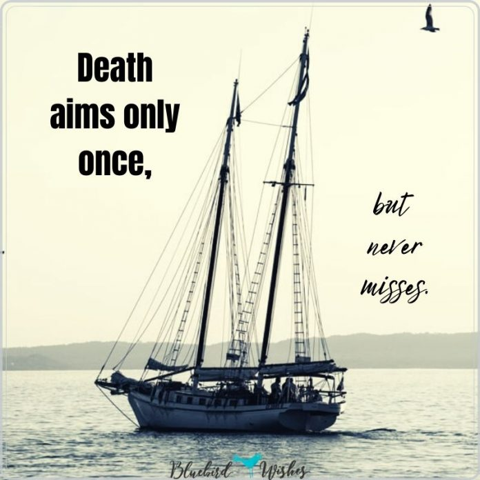 sad sayings about death