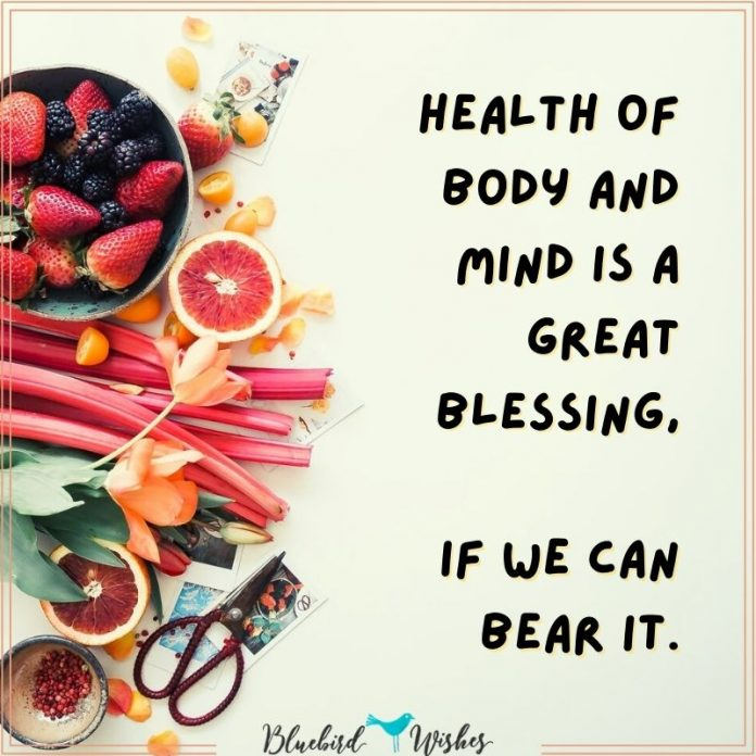 funny health sayings
