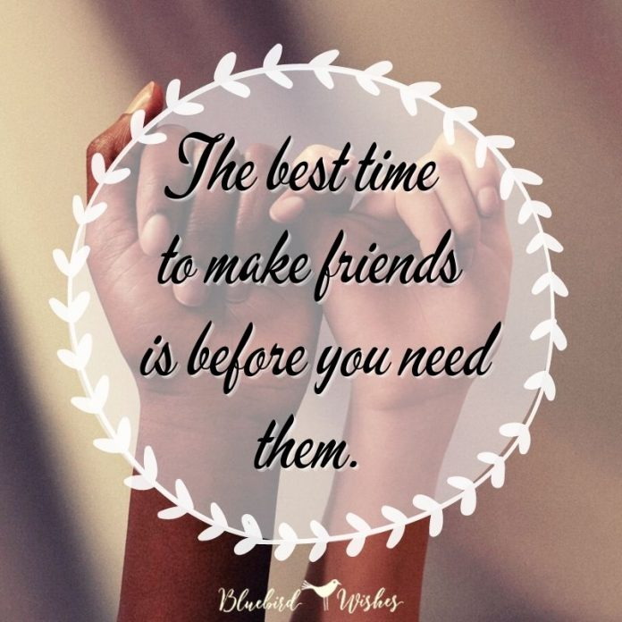 Motivational sayings about friendship