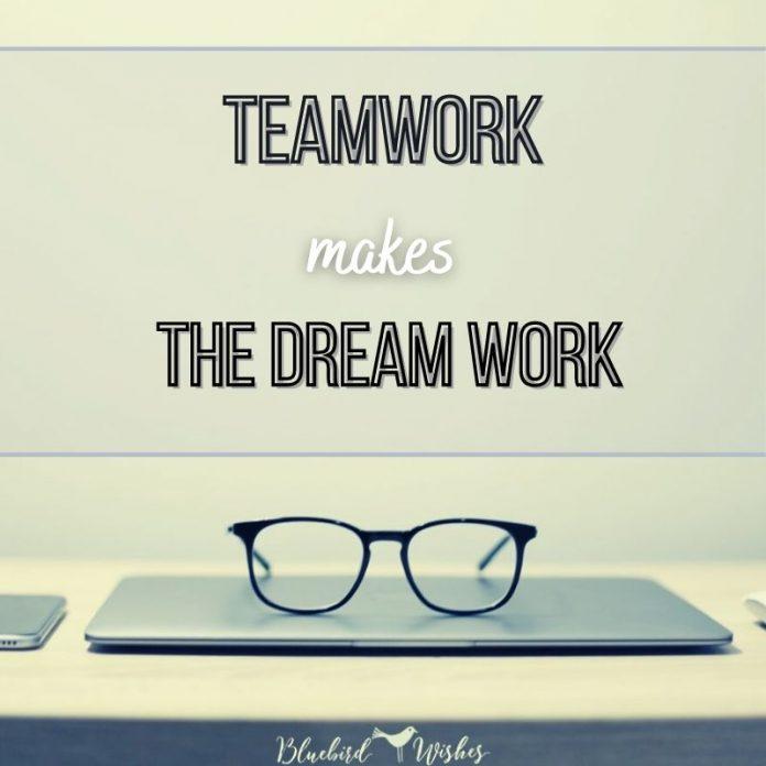 teamwork words for work