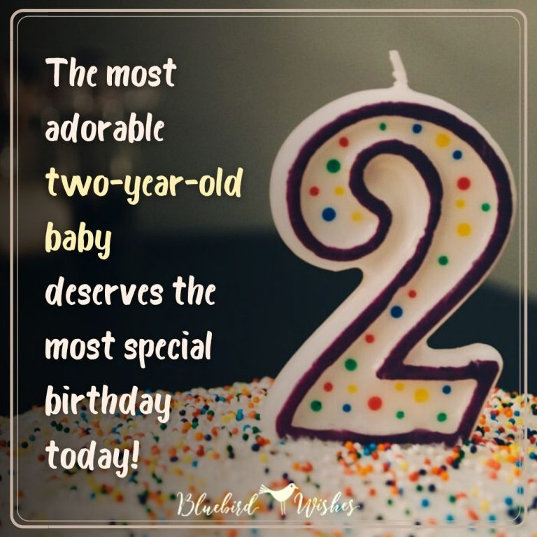 2nd birthday messages