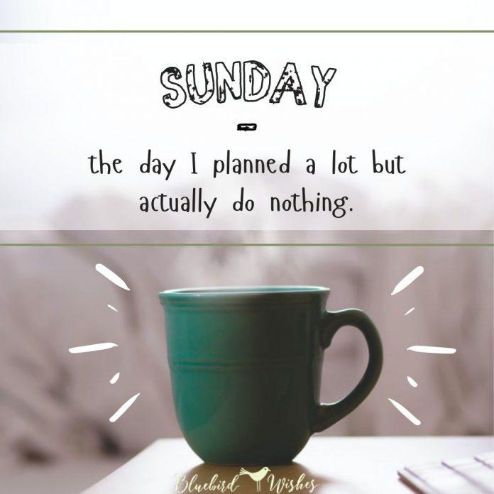 beautiful Sunday morning words