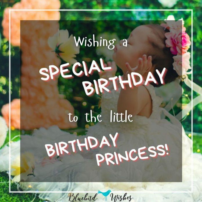birthday greeting for princess